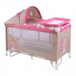 Кошара BABY NANNY Plus Rocker Beige&Rose Princess