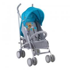 Бебешка количка Fiesta Blue&Grey Hello Bear