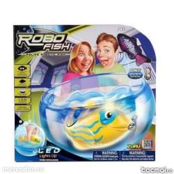 Робофиш с Led светлина в аквариум