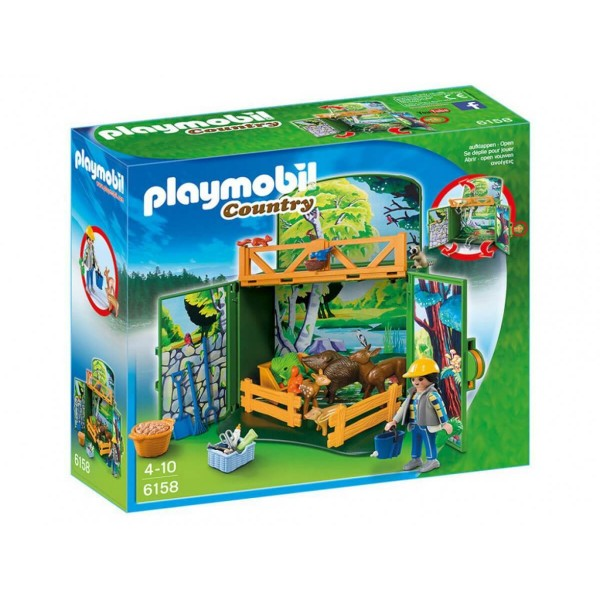 Плеймобил комплект за игра горски животни
