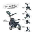 Smart Trike Детска триколка Dazzle 5 в 1 сива