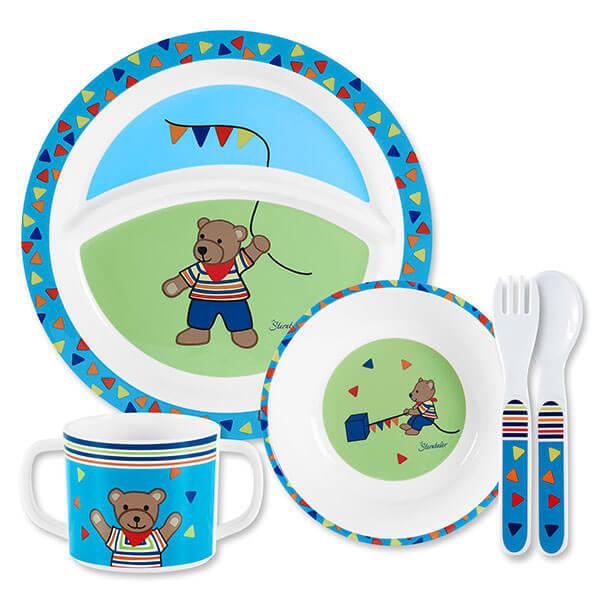 Sterntaler Комплект съдове и прибори за хранене