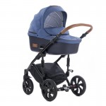 Бебешка количка 2в1 Tutis Viva Life Blue Indigo