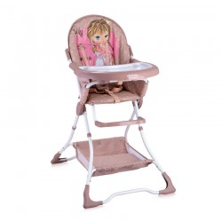 Стол за хранене Bravo Beige&Rose Princess