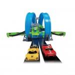 Bburago Писта с два лупинга Go gear 2 коли