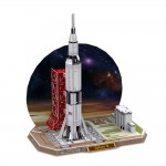 3D Пъзел Space Series Saturn V Rocket