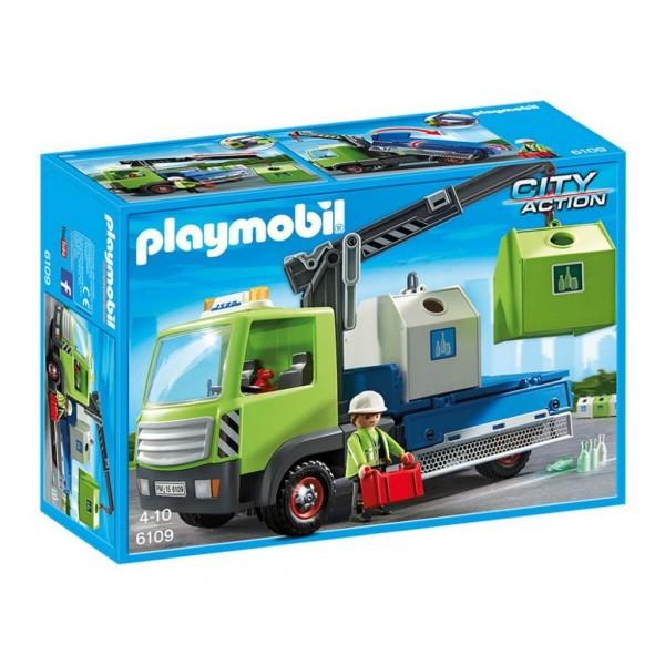 Плеймобил камион за отпадъци от стъкло