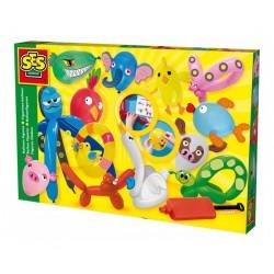 Сес Комплект фигури от балони + помпа