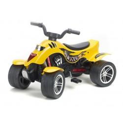 Falk Мотор с четири колела жълт