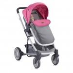 Детска количка S500 Rose&Grey Girl