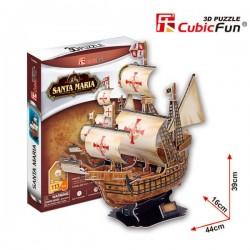 3D Пъзел Кораб Santa Maria