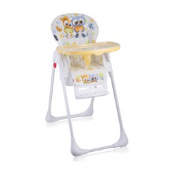 Столче за хранене TUTTI FRUTTI White Baby Owls