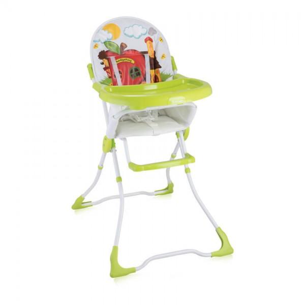 Стол за хранене CANDY Green Hedgehog