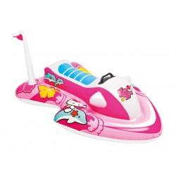 Надуваема моторница Hello Kitty