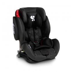 Стол за кола TITAN+SPS Isofix BLACK LEATHER