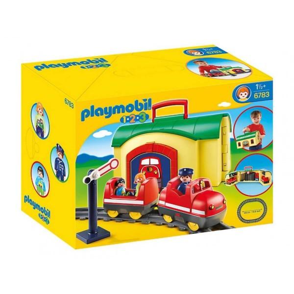 Плеймобил преносим влак