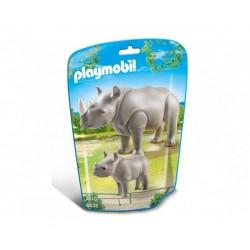 Плеймобил носорог с малко