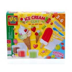 Сес Комплект с пластелин - сладолед