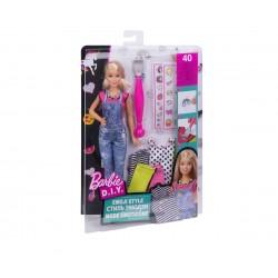 Кукла Barbie - Комплект за дизайн с емоджита и кукла