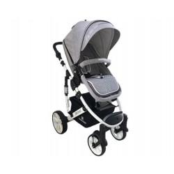 Бебешка количка Beloved 2в1 Light Grey