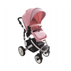 Бебешка количка Beloved 2в1 Light Pink