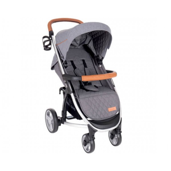 Бебешка количка Madrid 3в1 Melange Grey