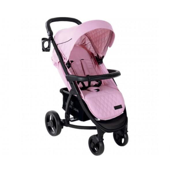 Kikkaboo Бебешка количка Madrid 3в1 Pink Melange