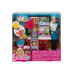 Кукла Barbie - Готвач на паста, с кухня