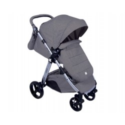 Бебешка количка  UGO 3 in 1 Dark Grey Melange