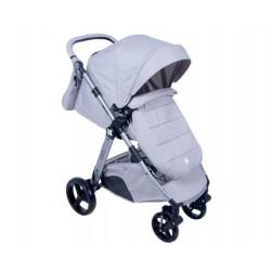Бебешка количка  UGO 3 in 1 Light Grey Melange