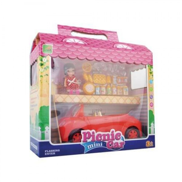 PICNIC MINI CAR Кола с кукла