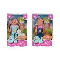 Simba Кукла Еви във фермата