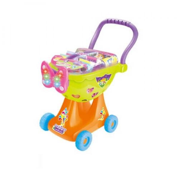 OCIE Детска количка за пазаруване HAPPY SHOPPING CART