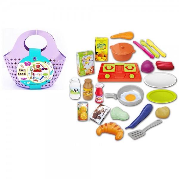 OCIE Детска пазарска кошница FUN FOOD