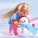 Simba Кукла Еви със снежен човек