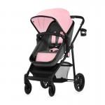 Бебешка количка Juli 3в1 Розова