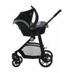 KinderKraft Бебешка количка Juli 3в1 Сива