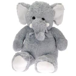 Плюшено слонче с панделка 80 см
