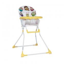 Столче за хранене Bobo Yellow Cute Owls