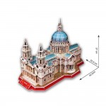 3D Пъзел St Paul's Cathedral