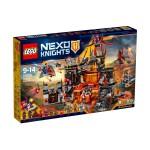 Лего Нексо Вулканичното леговище на Jestro