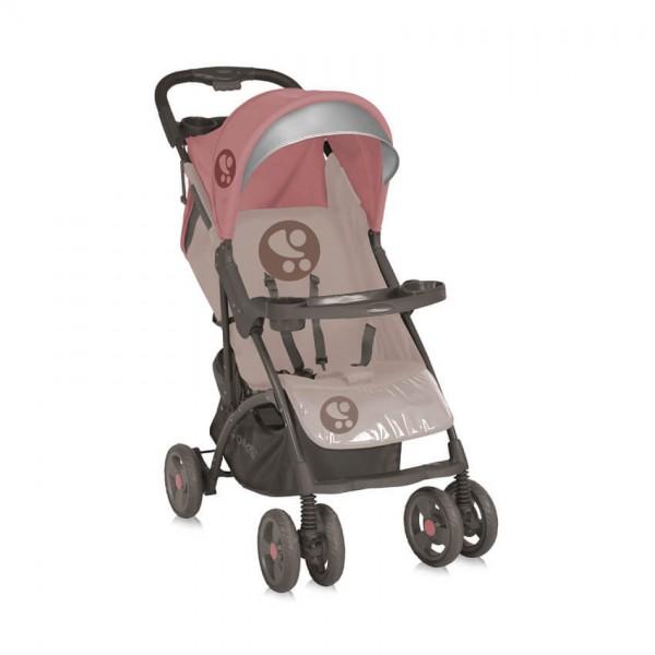 Детска количка Smarty Beige&Terracotta с покривало