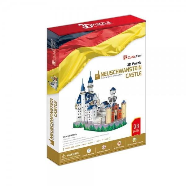 3D Пъзел Neuschwanstein Castle