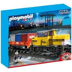 Плеймобил Радиоуправляем товарен влак