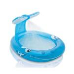 Интекс Детски надуваем басейн с пръскалка Кит