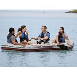 Лодка Марина с гребла и помпа