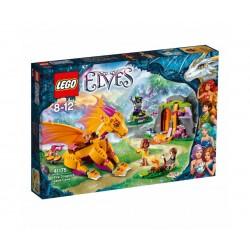 Лего Елфи Пещерата с лава на огнения дракон
