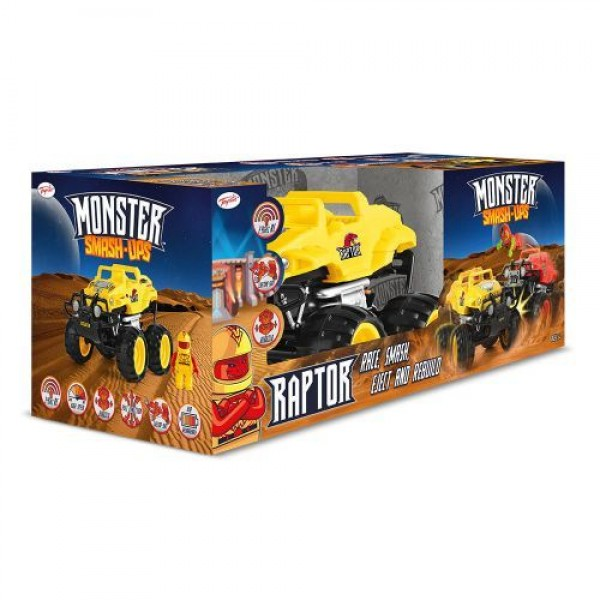 Monster Smash Ups Чудовищна кола Raptor