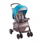 Бебешка количка Star Beige&Blue Giraffe с покривало