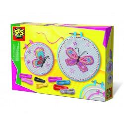 Сес Комплект за бродиране с пеперуди